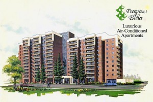 Evergreen Estates Calgary Downtown Apartment Architectural Concept