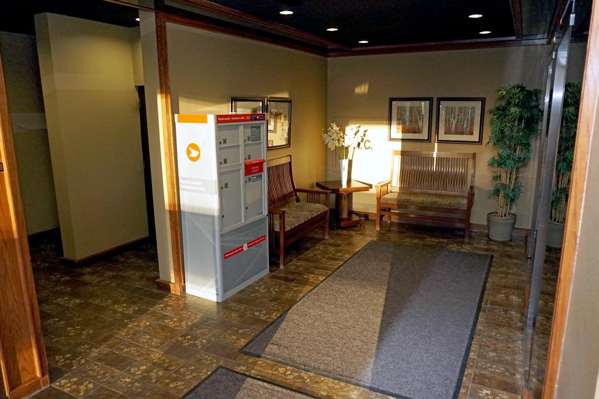 Evergreen Mailbox