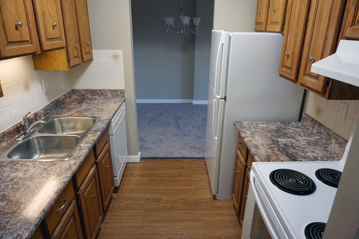 Renovated A Kitchen