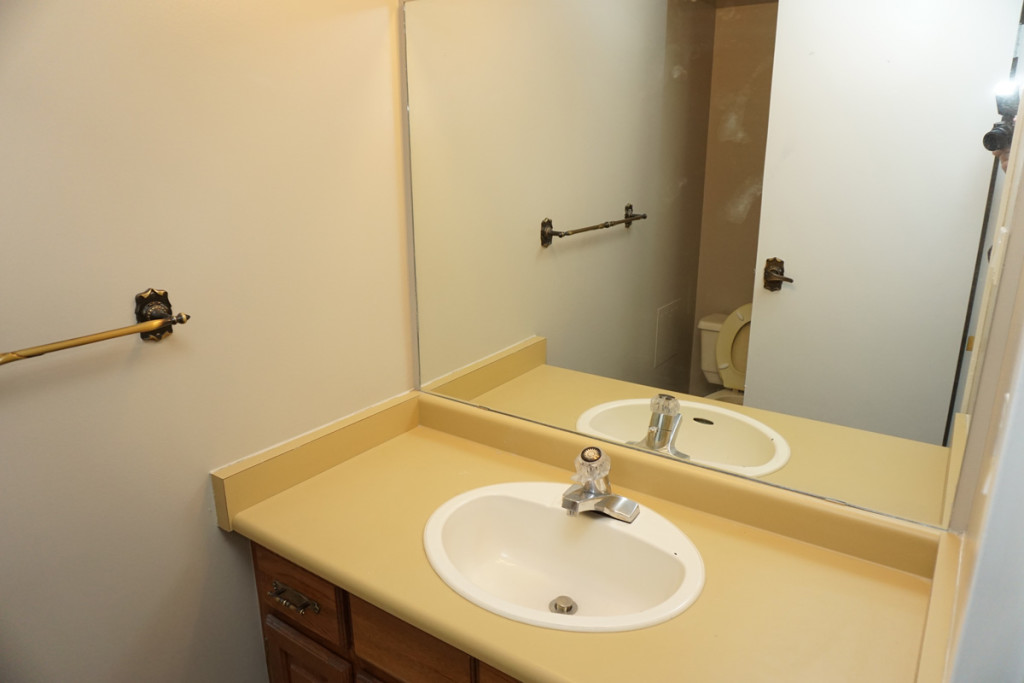 A Unit Half Bathroom