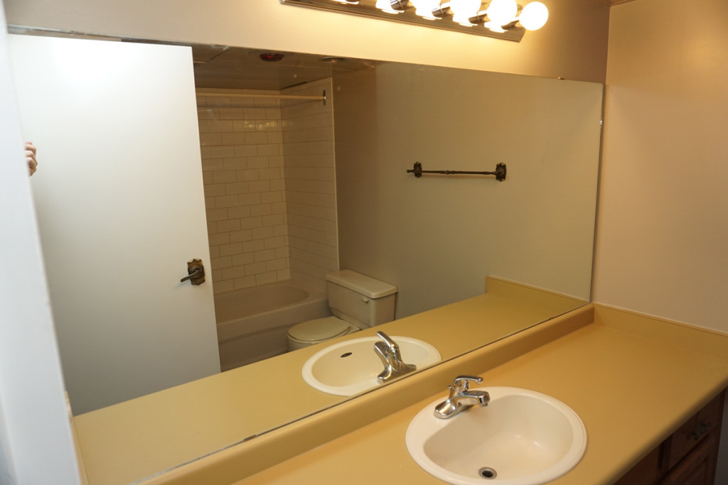 A Unit Main Bathroom