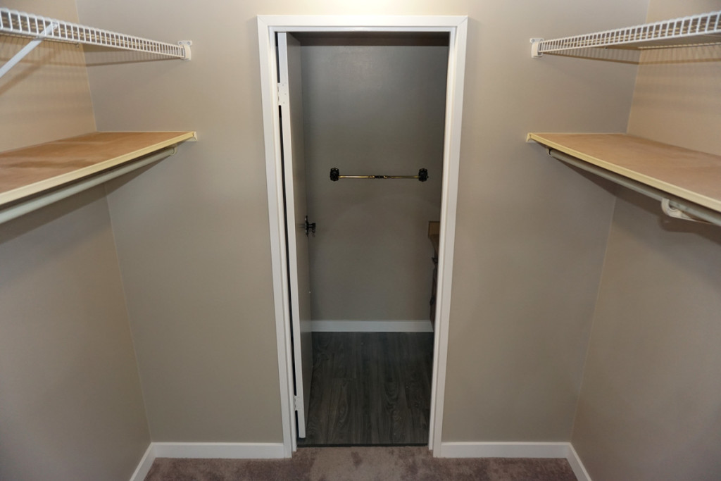 Renovated A Walk-in Closet