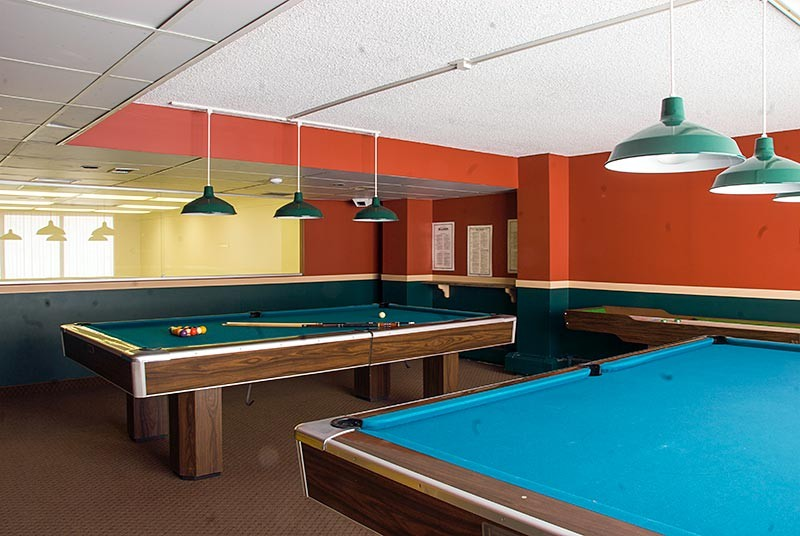 Evergreen Estates Billiard Room
